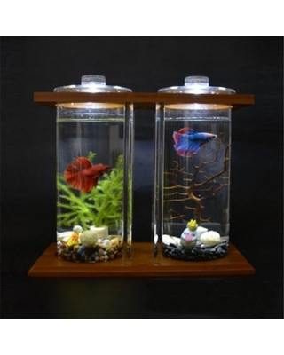 aquarium-small-betta-fish-tank-with-led-light-dual-clear-glass